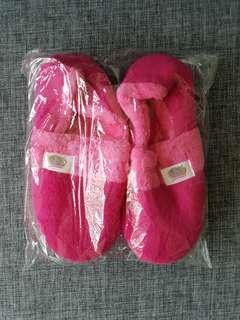 BN Pink Bedroom Slippers