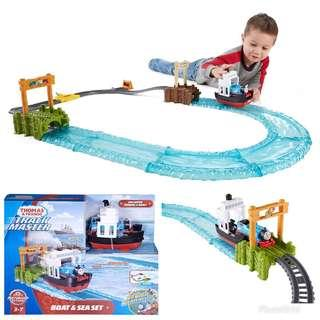 BRAND NEW Fisher-Price Thomas & Friends TrackMaster, Boat & Sea Set