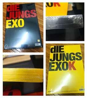 EXO Official Photobook - dIE Jungs (EXO - Reserved & EXO K ver - Available)