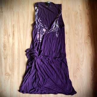 Mango Wrap-around Dress
