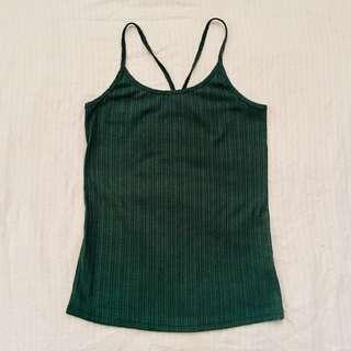 REPRICED Basil Green Sexy Top