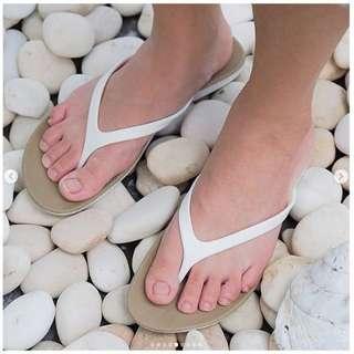CAMOU Chelsea Oatmeal Sandal Jepit Eksklusif 36-40