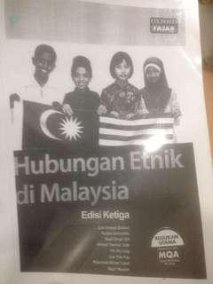 Hubungan Etnik Di Malasia