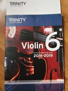 Trinity Violin Gd 6 exam