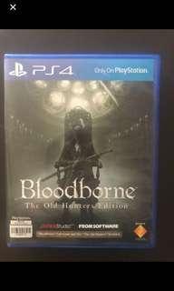 Bloodborne the old hunter edition
