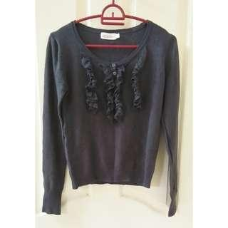 USED Size L Scarlet Knitted Grey