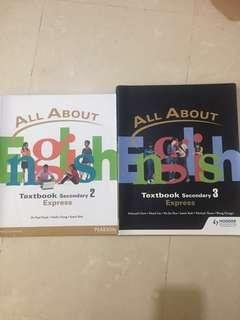 All About English Express Textbook Secondary 2 & 3
