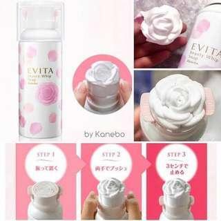 Kanebo Evita Beauty Whip Soap
