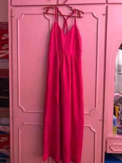 Pink Maxi Dress for Weddings