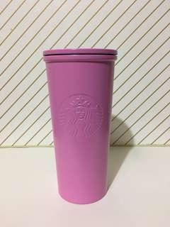 Starbucks Matte Pink Stainless Steel Cold Cup