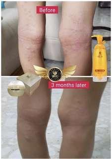 Wouwou The last drop shower gel + Myrothamus Fabellifolia cream