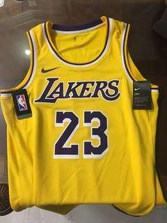 🚚 Lakers Lebron James 23 SW球迷版 球衣