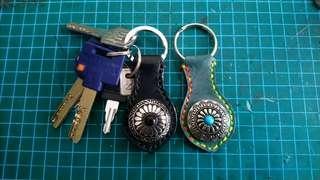 DIY真皮鎖匙扣