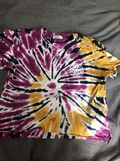 Stussy tiedie t-shirt