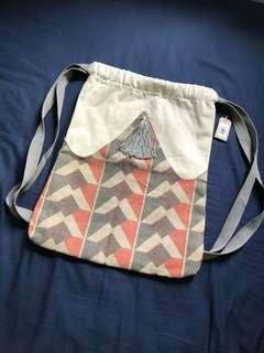 Fabric back pack
