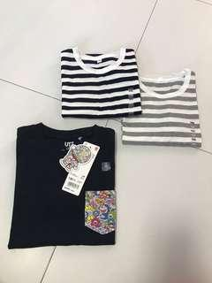 <Bundle of 3> UNIQLO T-shirt