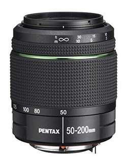 Pentax smc DA 50-200mm f/4-5.6 ED WR Zoom Lens