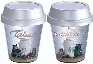 RARE!! Starbucks Taiwan Exclusive Snow Globe