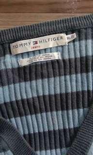 1577 TOMMY HILFIGER COTTON KNIT TOP MEN (XL)