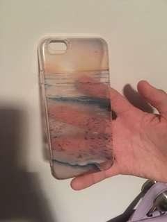 Ocean background iPhone 6 case