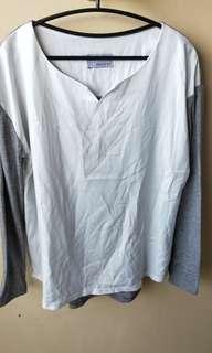 🚚 異材質韓版上衣