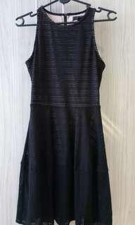 BCBG MAXAZRIA Cut-In Dress