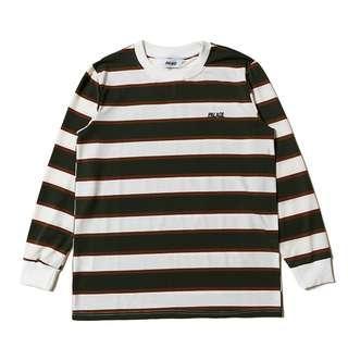 Palace Skateboard Life Stripe Sweater Shirt