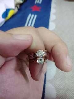 🚚 K金戒指2枚