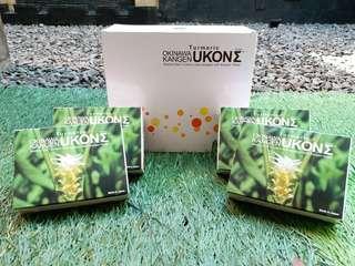 Kangen Ukon Okinawa Wild Turmeric Softgel Supplement