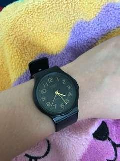 Casio rubber watch