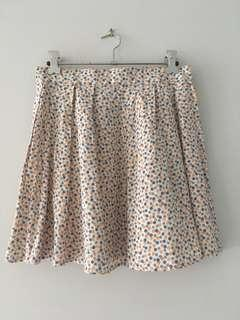 Vintage Polk dot skirt