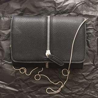 Zipped Sling Bag