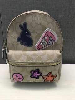 Ready stock coach mini Charlie backpack