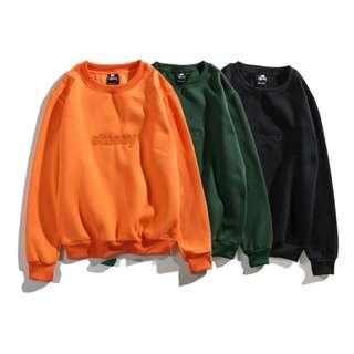 Stussy Embroidered 3D Logo Pullover Sweater