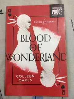 (ARC) Blood Of Wonderland by Colleen Oakes