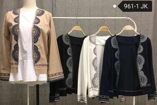 EMBROIDED CARDIGAN