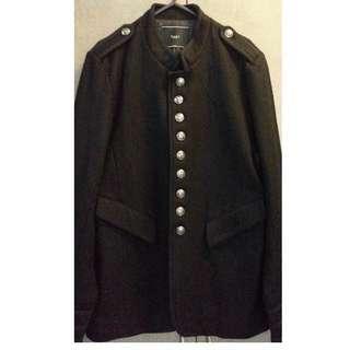 男裝 軍褸 外套 中褸  香港名牌 + 一 X ≒