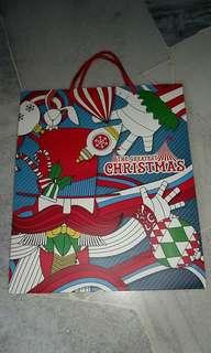 Thick Parkson Christmas Paper Bag #NEW99