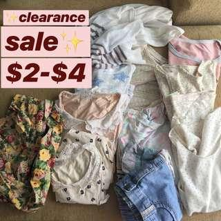 ‼️ CLEARANCE SALES