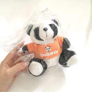 Cute Orange foodpanda Panda Bear 🐼