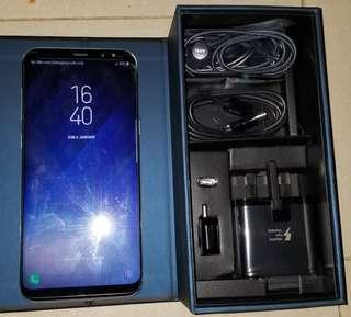 Samsung S8+ 64gb (with some damage)