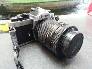 Nikon FM2 with 35-105 f3.5-4.5 lens