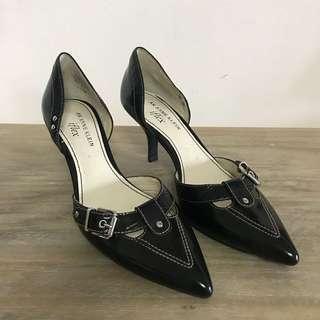 f641ce32463d Anne Klein Leather Black Heels Size US 5.5 (Leather   Unworn ) (Not Coach