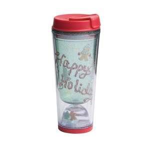 Brand new Starbucks Happy Holidays Tumbler