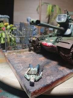 """Buddha got our backs! "" version 2 in 1/35 Scale Vietnam War series"