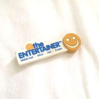 The Entertainer Rubber Cased Thumbdrive