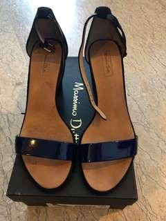 Massimo Dutti Ladies Leather n Suede Heels
