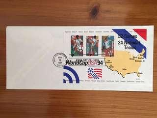 World Cup 1994 USA First Day Cover