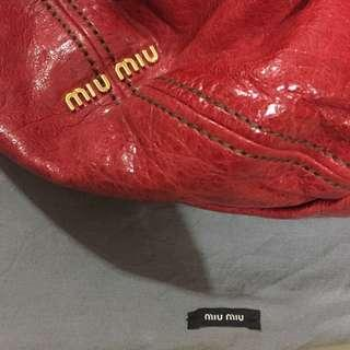 Real Miu Miu large bag 90%new