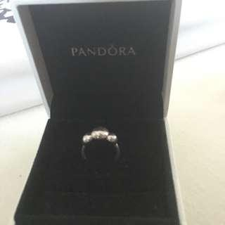 Authentic Pandora Bubble Ring